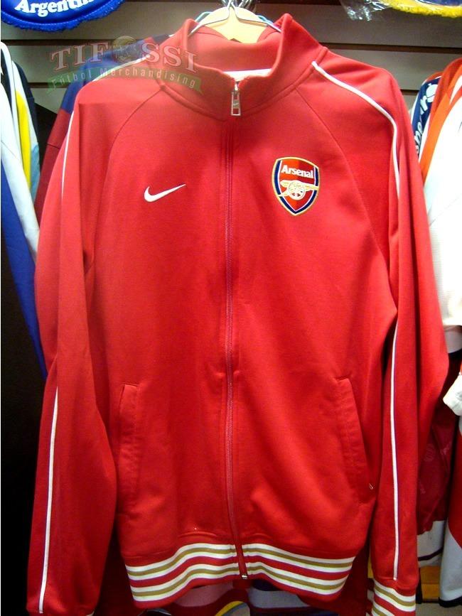 d60b21dcccbe3 Chaqueta Arsenal Nike - Tifossi -   40.000 en Mercado Libre