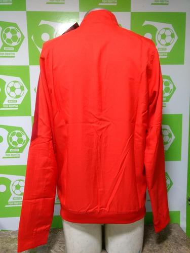 chaqueta atlético madrid 2015-2016 roja nike nueva original