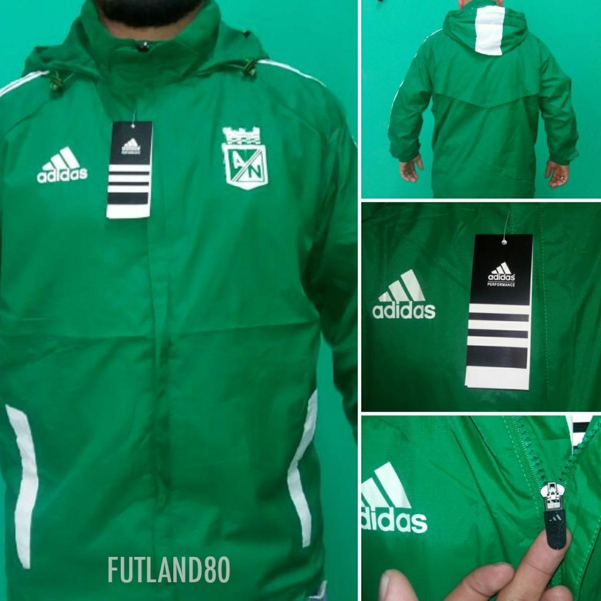 Chaqueta Atlético Nacional Verde -   90.000 en Mercado Libre 00a5fc1307cc7