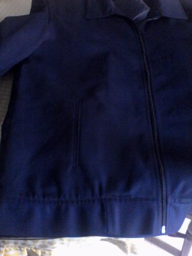 chaqueta azul marino talla xl caballeros