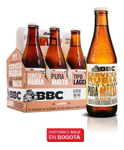 chaqueta bbc + 6 cervezas bbc lager 330 ml