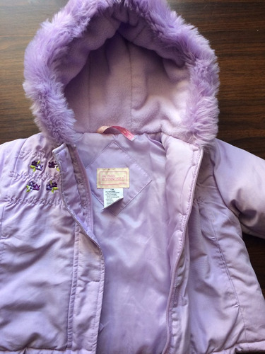 chaqueta bebe talla 12 meses rothschild