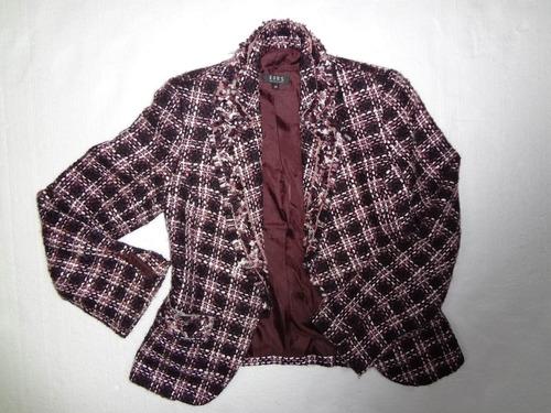 chaqueta blazer de mujer michael kors de lana talla 38 (m)