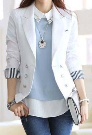 envío complementario auténtico ofertas exclusivas Chaqueta Blazer Elegante Casual Para Mujer Úsalo En Toda Oca