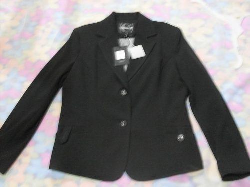 chaqueta - blazers cacharel negro, talla 42, nuevo.