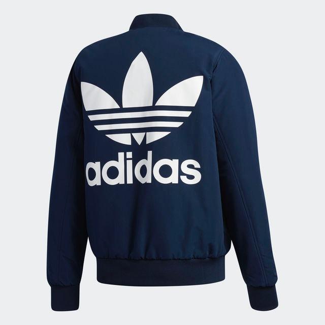 Reversible Exclusiva Adidas Originals Bomber Chaqueta Qxxuawfrt tfw11qE