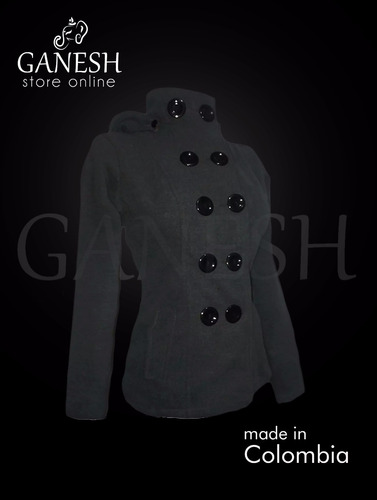 chaqueta británico elegante mujer ganesh paño cachemir