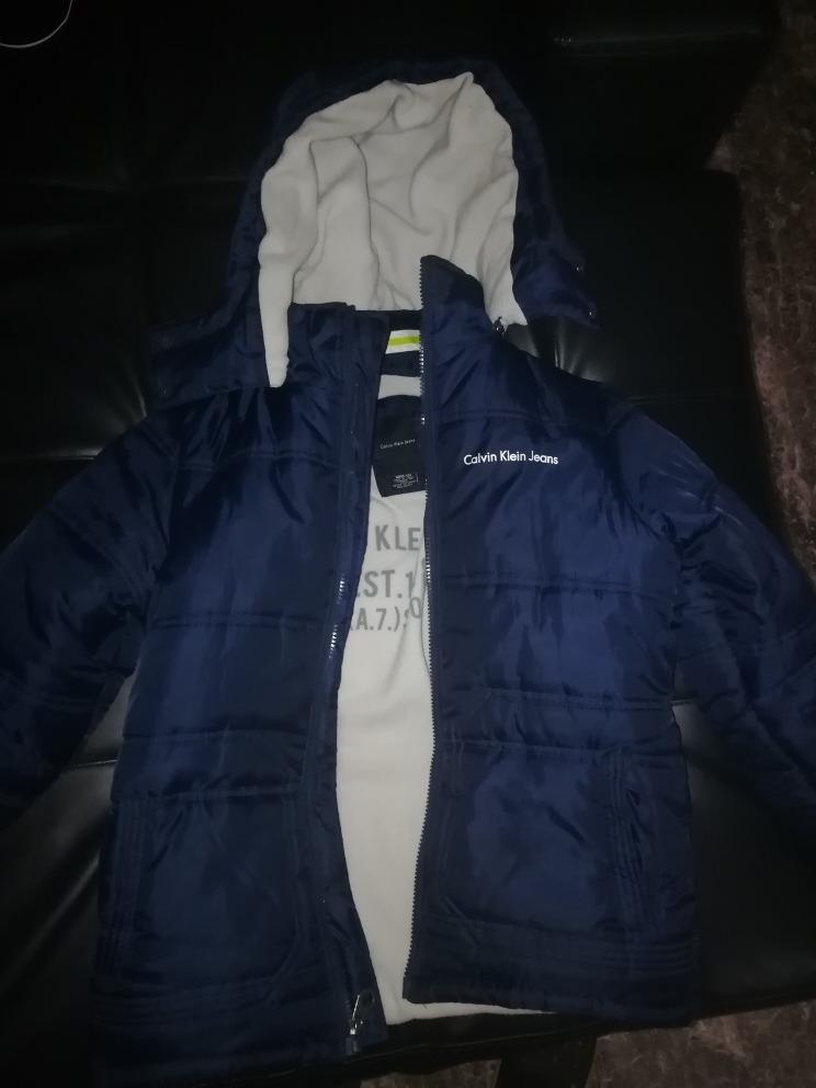 3dec5184e38 chaqueta calvin klein jeans kids. Cargando zoom.