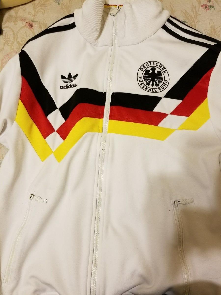 Bs 1990 Adidas Futbol Camiseta Italia Mundial Chaqueta Alemania T01SRT