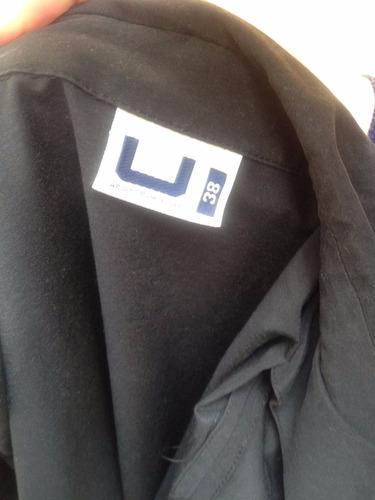 chaqueta campera microfibra adolfo dominguez
