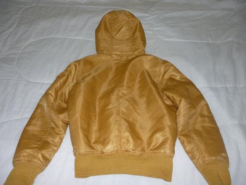 chaqueta capota peluche the  s  brand para dama talla m
