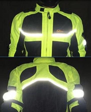 chaqueta casaca reflectante protecciones primavera-verano