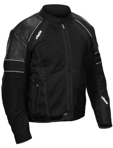 chaqueta castle streetwear contact negra 3xl