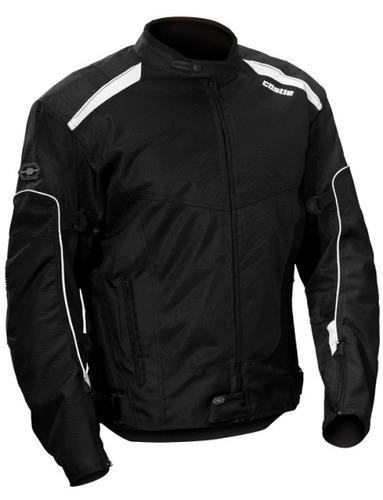 chaqueta castle streetwear turbine 2 color negra md