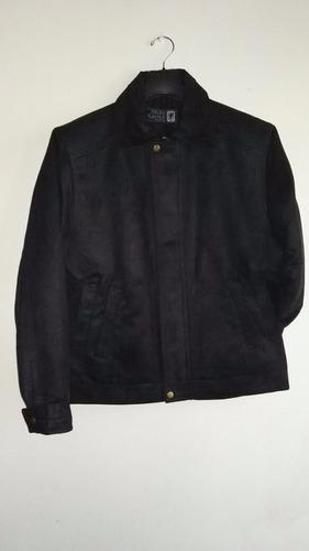 chaqueta casual para hombre en seda gamuzada
