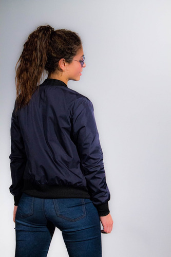 chaqueta cazadora tipo bomber dama fashion moda mujer