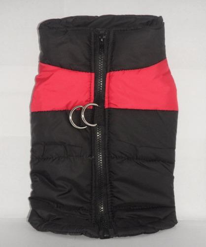 chaqueta chaleco perro mascota impermeable roja l