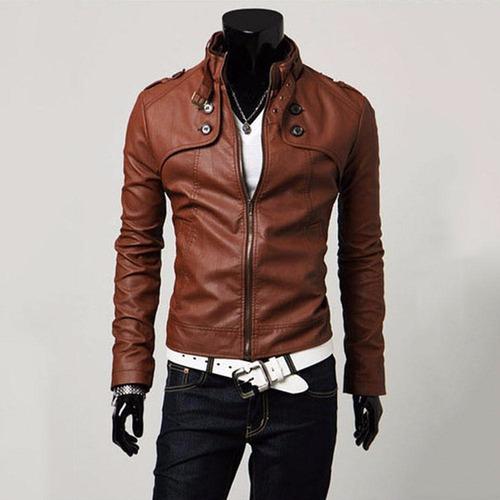 chaqueta chamarra piel cuero pu moda japonesa envió gratis