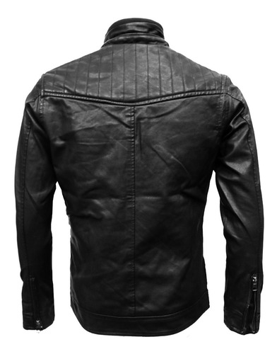 chaqueta chamarra tipo biker hombre