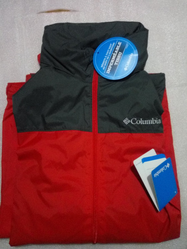 chaqueta columbia  impermeable cortavientos glennaker