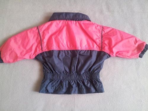 chaqueta cortaviendo wilson bebita niña talla 12 meses