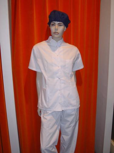 chaqueta cuello mao blanca marca cotton blue talle xs, s, m