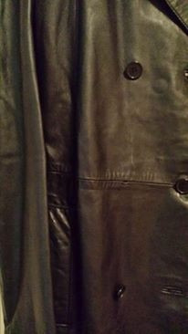 chaqueta cuero 100% mujer