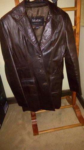 chaqueta cuero argentino mujer talla m