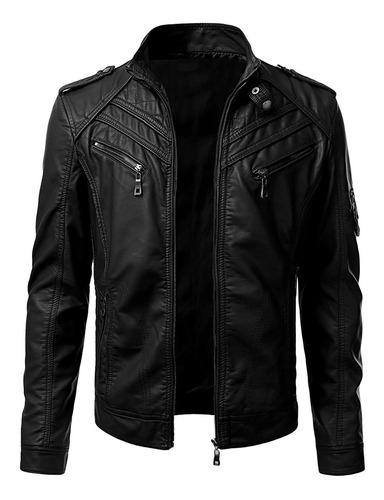 chaqueta cuero modelo infinity   100% cuero   envio gratis!
