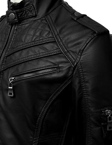 chaqueta cuero modelo infinity | 100% cuero | envio gratis!
