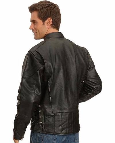 chaqueta cuero moto - biker leather jacket