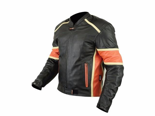 Comprar chaquetas de cuero moto de alta calidad a