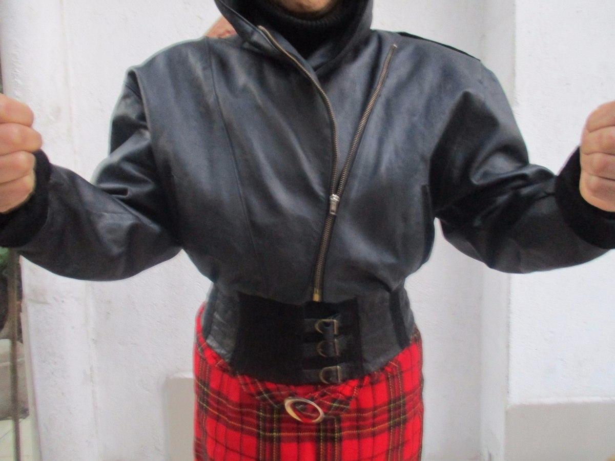S De Con 500 Chaqueta Talla Gorro Mujer 23 En Negra Cuero q0wBw1Ag