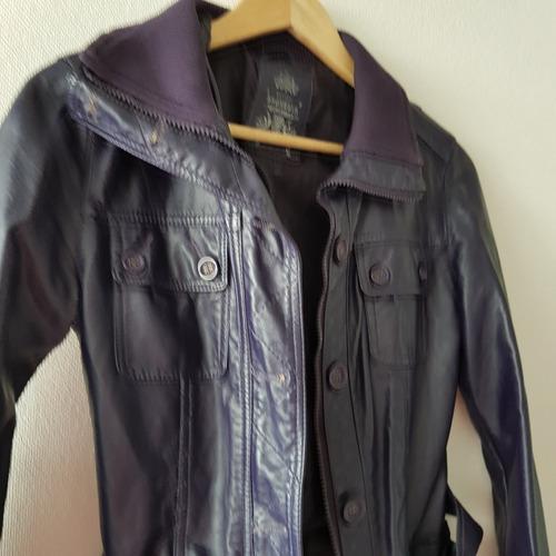 chaqueta cuero sintético