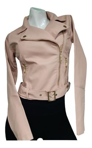 chaqueta cuero -tex para dama corta