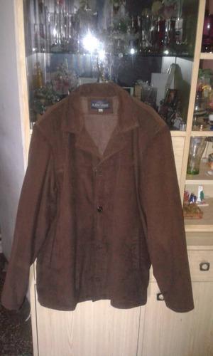 chaqueta d pana para caballero color marrón talla xxl