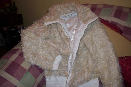 chaqueta dama tipo oveja
