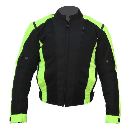 chaqueta dbk motorizado unisex con protección codos espalda