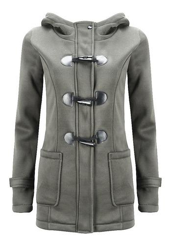 chaqueta de abrigo con capucha de invierno para mujeres