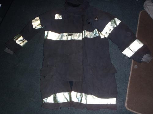 chaqueta de bombero