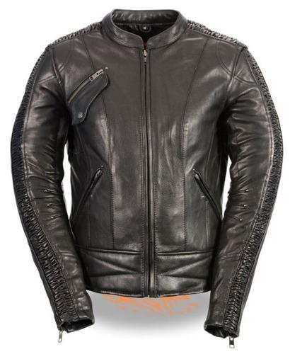 chaqueta de carreras milwaukee mujer c/entramado bordado sm