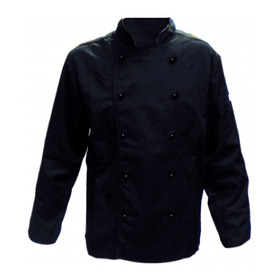 Chaqueta De Cocina Negro Chef
