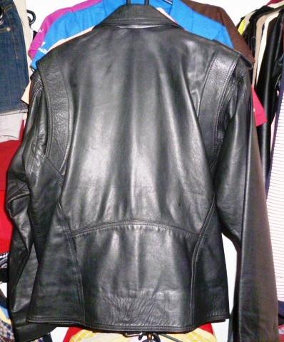 chaqueta de cuero 100% original para caballero, pura piel.
