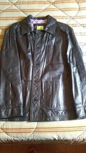 chaqueta de cuero colombiana robert louis talla l