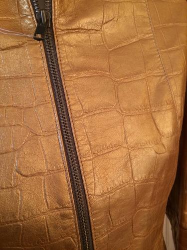 chaqueta de cuero nueva