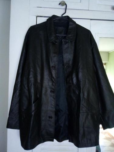 chaqueta de cuero para caballero