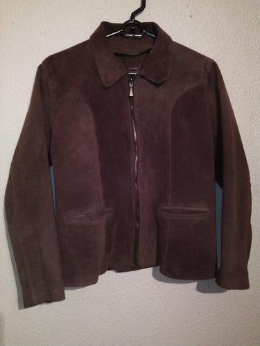 chaqueta de cuero para damas