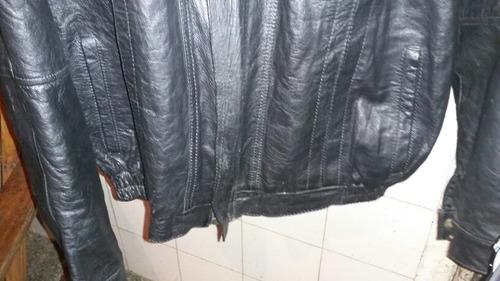 chaqueta de cuero talla l