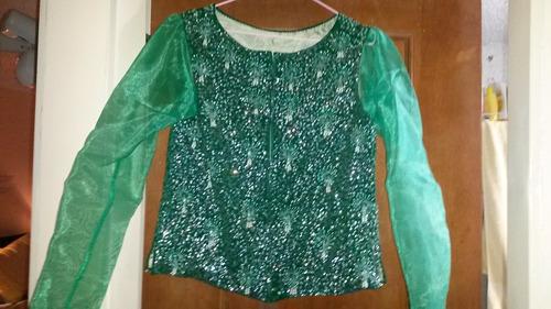 chaqueta de fiesta damas en lentejuelas