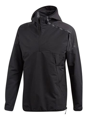 chaqueta de hombre lifestyle adidas m zne anorak black